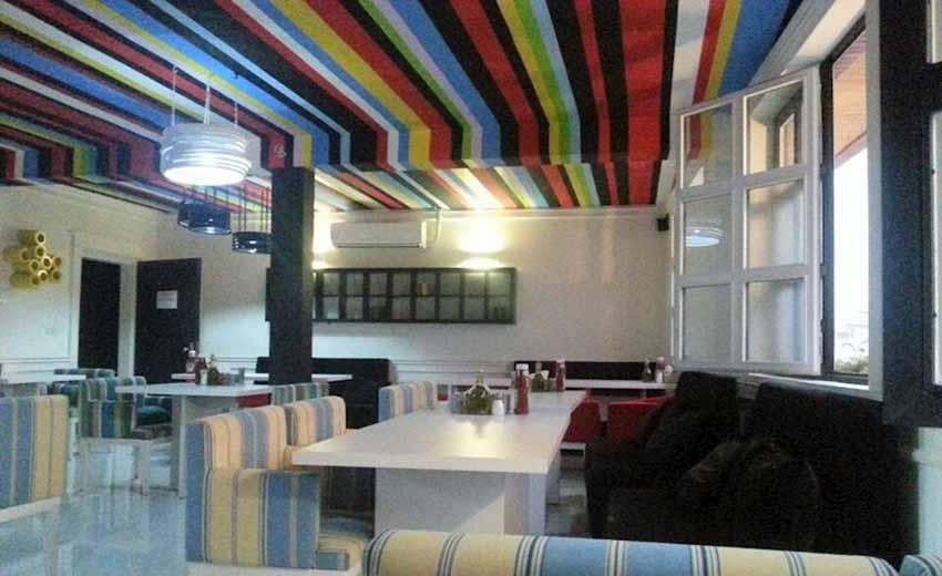 نمایی از کافه رستوران هرمس اصفهان