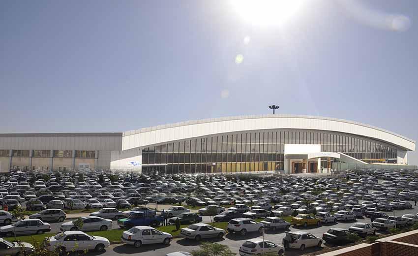 پارکینگ فرودگاه اصفهان