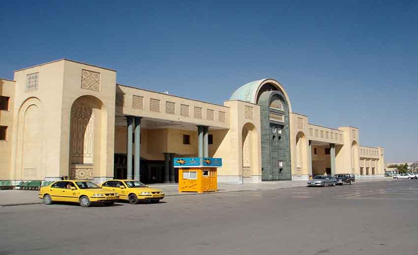 نمایی از فرودگاه اصفهان