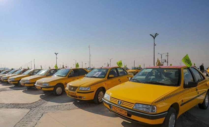 نمایی از تاکسی اصفهان