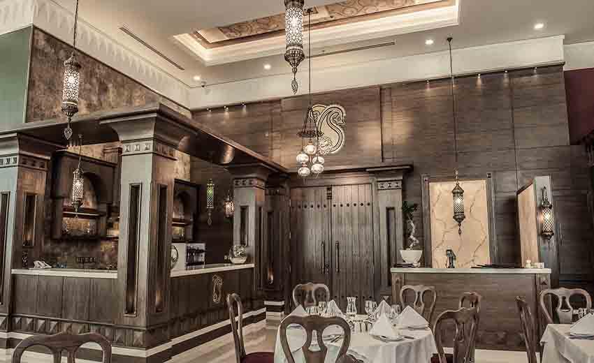 نمایی از رستوران خوان گستر اصفهان
