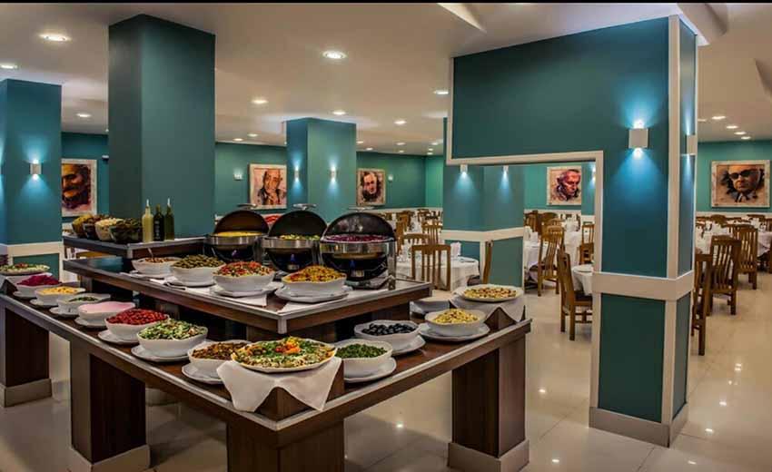 نمایی از رستوران خوان گستر جلفا اصفهان