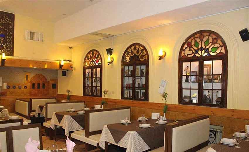 نمایی از رستوران های شیراز