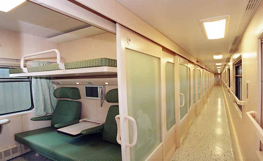 سفر به شیراز با قطار
