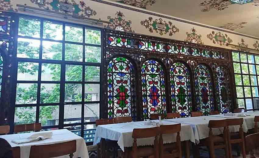 نمایی از رستوران شهرزاد اصفهان