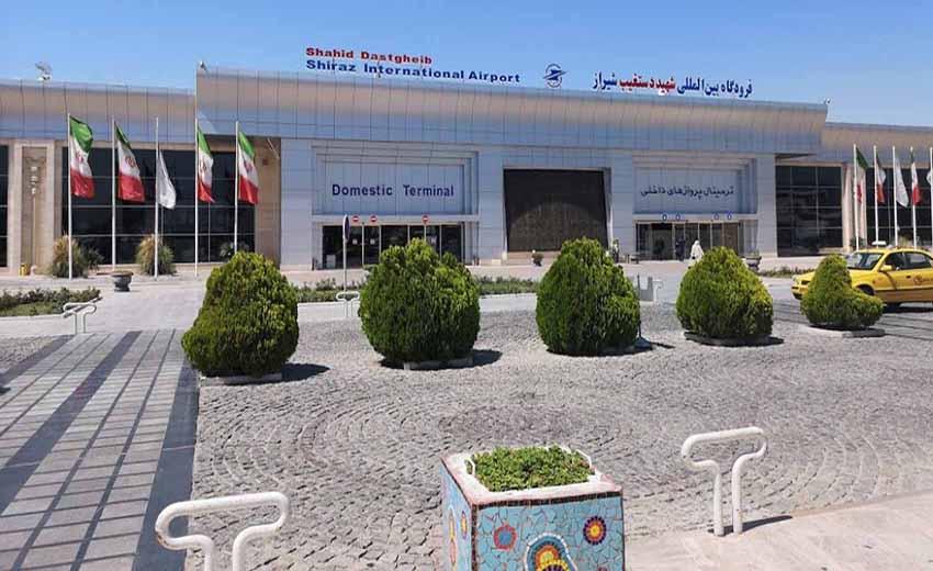 نمایی از فرودگاه شیراز