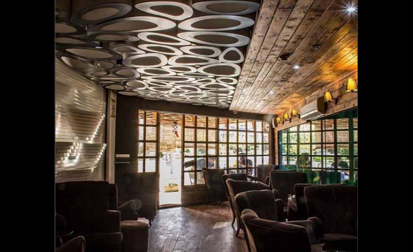 نمایی از کافه یوگا شیراز