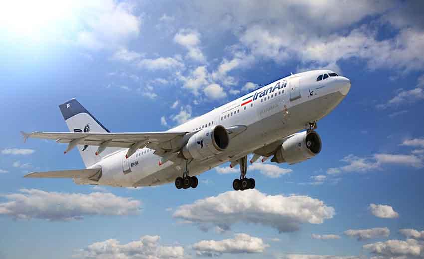تصویری از شرکت هواپیمایی ایران ایر